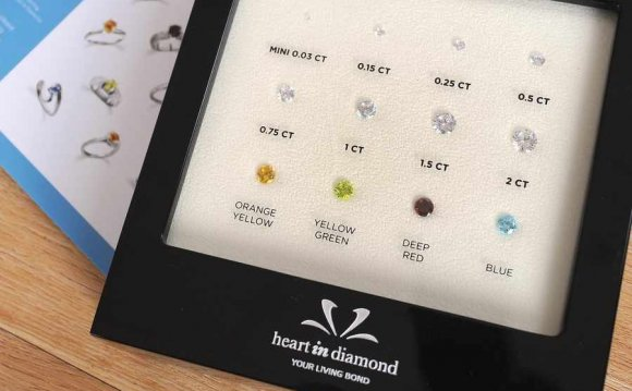 Diamonds made from cremated