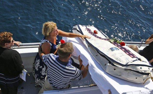 Burials at sea becoming more