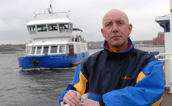 Ferry passengers hit by ashes
