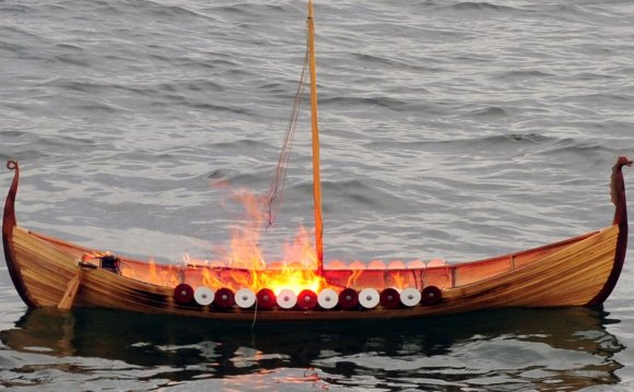 Ashes at Sea ceremony